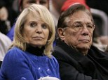 Los Angeles Clippers owner Donald Sterling (C), his wife Shelly (L) attend the NBA basketball game between the Toronto Raptors and the Los Angeles Clippers at the Staples Center in Los Angeles, in this December 22, 2008 file photo. Sterling, banned for life from the NBA for taped racist comments, has handed over control of the team to his wife, according to media reports May 23, 2014 REUTERS/Danny Moloshok/Files (UNITED STATES) - RTR22SUE