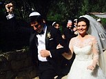 I do! Happy Endings star Casey Wilson married her fiance, television writer and show creator David Caspe, 35, in an intimate traditional Jewish ceremony on Sunday at the Ojai Valley Inn in Ojai, California
