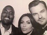 What a babe! Pastor Rich Wilkerson Jr. was a sight for sore eyes as he officiated Kanye West, second left, and Kim Kardashian's, second right, wedding in Florence, Italy on Saturday