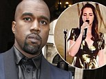 She comes at a cost! Kanye West rumoured to have paid Lana Del Rey $2.8 MILLION to perform at wedding festivities