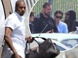 Kim Kardashian has arrived at her wedding venue