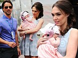 I can't ear you mummy: Tamara Ecclestone protects baby Sophia with pink crystal encrusted noise reducers at the Monaco Grand Prix
