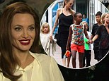 'I slept in Taronga Zoo THREE times': Angelina Jolie reveals they loved staying with the animals and they haven't ruled out an Australian wedding