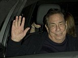 Donald Sterling the disgraced Los Angeles Clippers Basket ball team owner was seen leaving 'Mastro's' Steak House in Beverly Hills