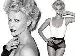 'It's nice to be not single': Charlize Theron vamps up Esquire in swimsuit and opens up about 'unexpected' boyfriend Sean Penn