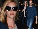 Rosie Huntington-Whiteley and Jason Statham spotted together in London after break-up rumours surfaced last week