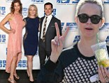 Freedom! Taryn Manning shows off peaceful spirit as fellow Orange Is The New Black cast members attend Cocktails For A Cause