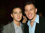 'We were young and dumb': Channing Tatum on vandalising a store with Shia LeBeouf in 2006, pictured that same year together in NYC