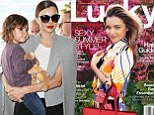 'We have the same humor that no one else understands': Miranda Kerr opens up about her special bond with son Flynn as she strikes a pose on the cover of Lucky