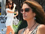 White hot! Kate Beckinsale is monochromatic magic as she joins Cindy Crawford at star-studded Memorial Day BBQ