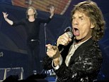 Mick Jagger back on stage