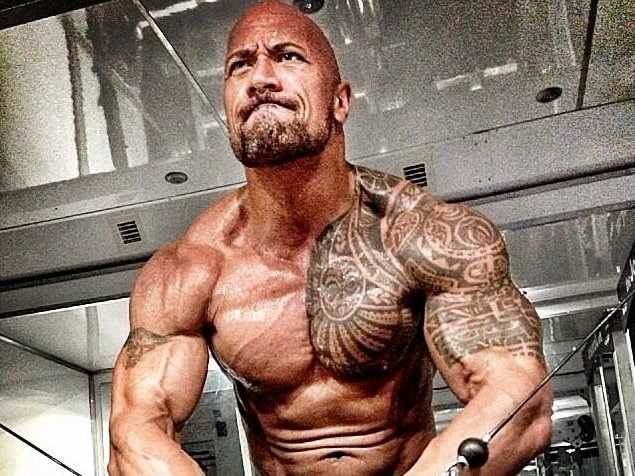 Dwayne The Rock Johnson fitness routine