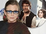 'We all look a little melted!' Carrie Fisher on reuniting with the Star Wars cast 37 years on from the original
