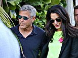 Royal wedding: George Clooney and his fiance Amal Alamuddin were so swept away by Highclere Castle on their visit, they're fixing to have their nuptials at Downton