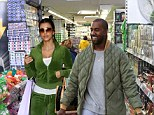 Romantic shopping: Fake sighting of Kim Kardashian and Kanye West took over the internet as the newlyweds took to Ireland for their honeymoon