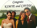 Congrats Kimye and Cavid! Casey Wilson tweets well wishes to Kim and Kanye as she and David Caspe get their own Happy Ending in fairytale Ojai wedding