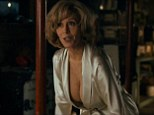 Quite the change: Jane Fonda, 76, plays a woman with breast implants in the new trailer for This Is Where I Leave You