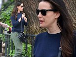 Just like a civilian! Liv Tyler blends into the background in unceremonious baggy outfit