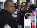 Beyonc� and Jay Z jet out of The Hamptons after snubbing Kim Kardashian and Kanye West's wedding