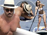 I Melt With You: Jeremy Piven spotted taking a pause from paddle boarding to kiss a mystery blonde