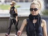 Look at that body! Age-defying Danielle Spencer is sexy and single as she works out in Sydney