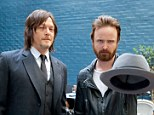 Breaking Bad actor Aaron Paul and The Walking Dead star Norman Reedus got on famously as they met at Variety Studio powered by Samsung Galaxy.
