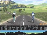 Researchers studied 14 cyclists during time trials. During tests, they used avatars, pictured, to tell athletes they were performing poorly compared to previous tests - even when they weren't. This deception caused the athletes to push 2.1 per cent harder, on average, and beat their personal bests