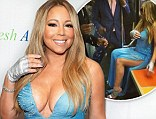 'It's like sparkles against filth': Mariah Carey pokes fun at her diva behaviour by strolling around New York in a glitzy ballgown, before riding on the subway and taking a cab