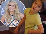 'Way too young!' Jamie Lynn Spears' parenting skills slammed after she posts video of her five-year-old daughter 'shaking her hips' to foul-mouth rap by Iggy Azalea