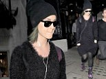 Katy Perry steps out in grunge chic ensemble as she pays a visit to her favourite store Liberty