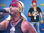 Medical emergency: Bret Michaels, shown performing earlier this month in Wisconsin, left a concert on Thursday in New Hampshire after suffering a medical emergency