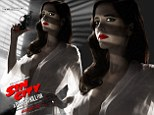 Sin City 2 poster featuring amply-charmed Eva Green in sheer dressing gown deemed 'too sexy' for ratings board