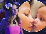 Actress Tammin Sursok steals one more precious moment with baby girl Phoenix before her return to Pretty Little Liars