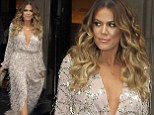 Khloe Kardashian's plunging Constantina And Louise gown for Kim's Wedding rehearsal crashes Australian designer's website.. TWICE