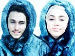 Friends fur-ever! Miley Cyrus has a day of sibling fun with her brother Braison wearing matching furry parkas in Norway