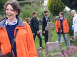 Broadchurch is back: David Tennant, Arthur Darvill and Olivia Colman were seen filming the new episodes in the seaside town of Clevedon, North Somerset