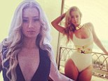 Bikini party time! Iggy Azalea puts on racy fashion show in two revealing swimsuits... after making history with chart topping singles