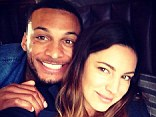 Shotgun wedding: Kelly Brook hints that she may have already got married as posts snap with celebrating with 'husband' David
