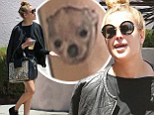 Now Bruce and Demi's OTHER rebellious daughter Tallulah reveals ankle tattoo of dog¿ after Scout goes topless on streets of NY