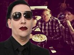 Now he's really scary! Marilyn Manson is cast as a white supremacist on Sons Of Anarchy