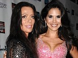 Going, going gone: Carlton Gebbia and Joyce Giraud, pictured last October are said to have been fired from Real Housewives Of Beverly Hills