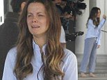 Kate Beckinsale was almost unrecognisable as she appears in upcoming TV drama movie The Trials of Cate, looking unkempt and makeup free.