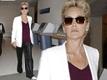 After a month of wowing in show-stopping gowns in Cannes, Basic Instinct star Sharon Stone, 56, needed a day off from the glamour.