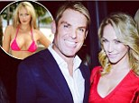Setting the record straight: Shane Warne plays down rumours that he's seeing Playboy cover girl Emily Scott