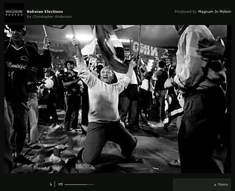 Magnum Photos Feature: Bolivian Elections by Chris Anderson