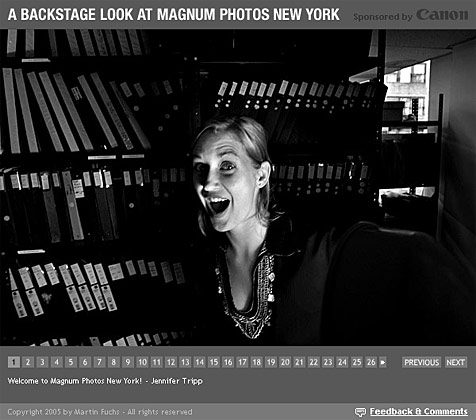 New gallery: A Backstage Look At Magnum Photos New York