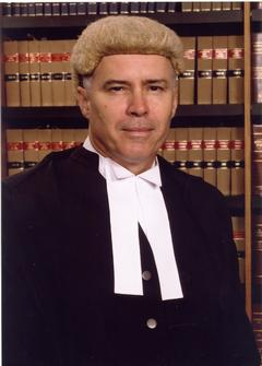 Portrait of The Honourable Justice Duncan V C McMeekin