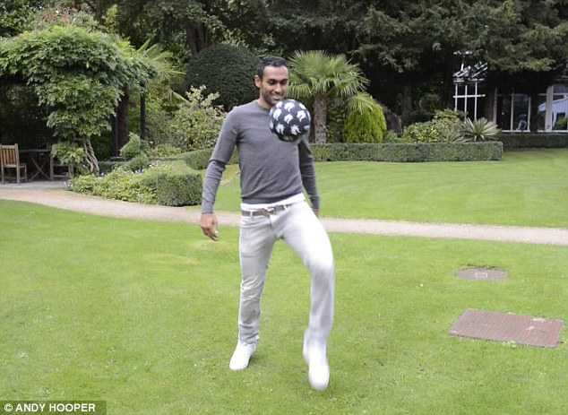 Judge for yourself as the Egyptian winger showboats his skills.