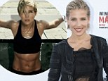 ABS-olutely eye-popping! Actress Elsa Pataky, 37, dazzles in black as she unveils her new book and her ROCK HARD midriff
