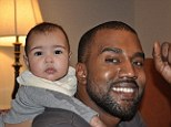 Concerned: Kanye West is said to be taking 'drastic measures' to ensure his daughter North's safety